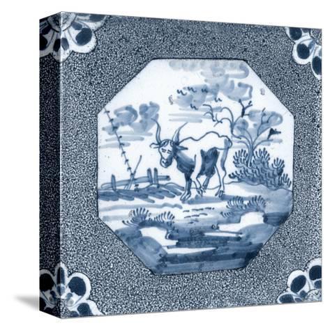 Delft Tile III-Vision Studio-Stretched Canvas Print