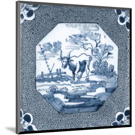 Delft Tile III-Vision Studio-Mounted Art Print