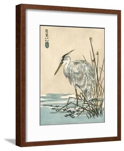 Oriental Crane I-Vision Studio-Framed Art Print