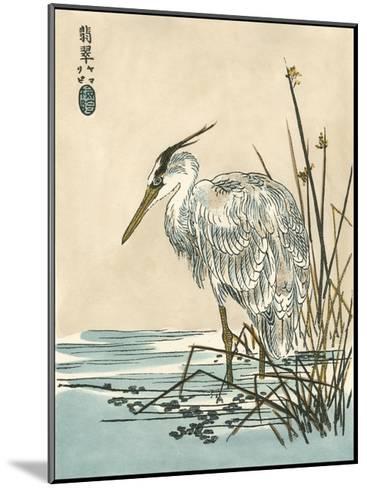 Oriental Crane I-Vision Studio-Mounted Art Print