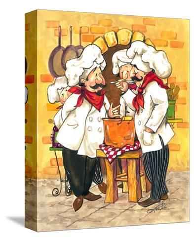 Soup Chefs-Jerianne Van Dijk-Stretched Canvas Print