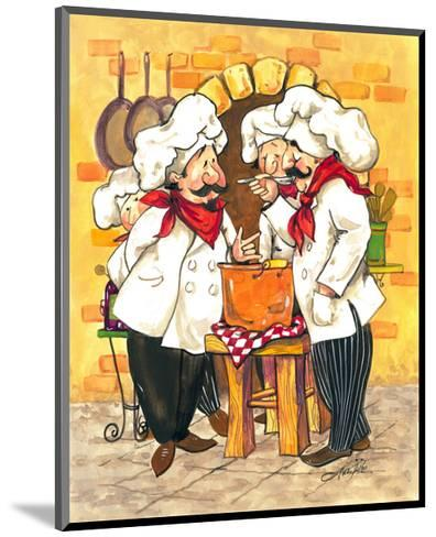 Soup Chefs-Jerianne Van Dijk-Mounted Art Print