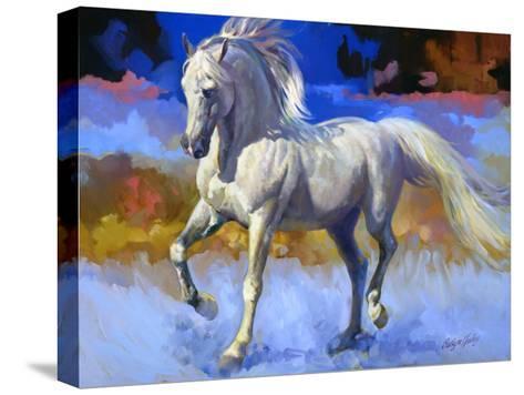 Canyon de Chelly-Carolyne Hawley-Stretched Canvas Print