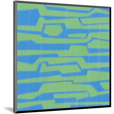 Modern Circuit V-Charles McMullen-Mounted Art Print