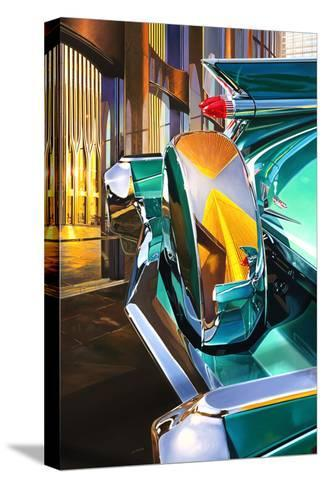 '59 Cadillac Coup DeVille-Graham Reynolds-Stretched Canvas Print