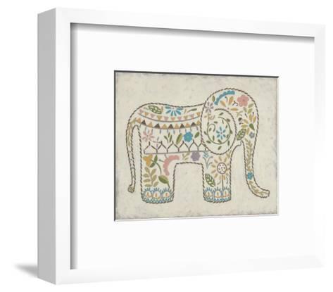 Laurel's Elephant I-Chariklia Zarris-Framed Art Print