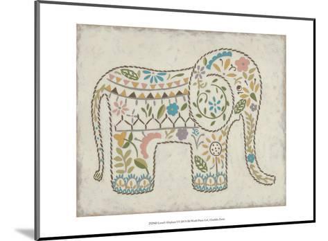 Laurel's Elephant I-Chariklia Zarris-Mounted Art Print