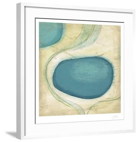 Currents IV-Erica J^ Vess-Framed Art Print