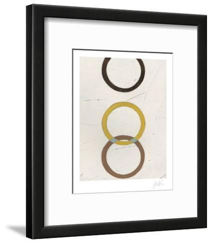 Tangle V-Erica J^ Vess-Framed Art Print
