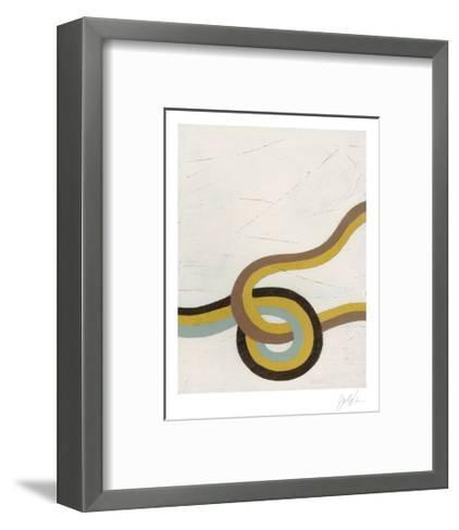 Tangle VIII-Erica J^ Vess-Framed Art Print