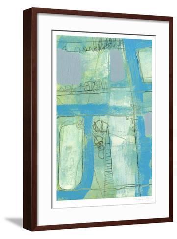 Fade In Fade Out I-Jennifer Goldberger-Framed Art Print