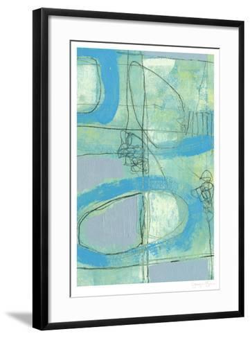 Fade In Fade Out II-Jennifer Goldberger-Framed Art Print