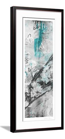 Ghost Print Floral II-Jennifer Goldberger-Framed Art Print