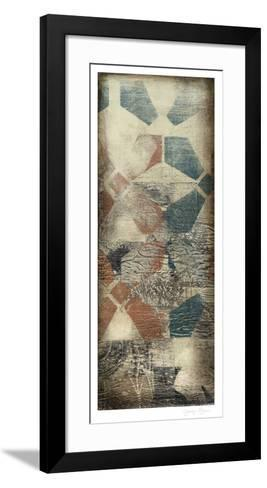 Distressed Collage I-Jennifer Goldberger-Framed Art Print