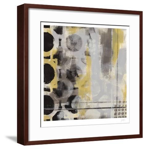 Circular Progression I-Erica J^ Vess-Framed Art Print