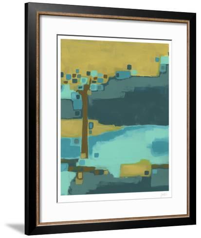 River Bend I-Erica J^ Vess-Framed Art Print