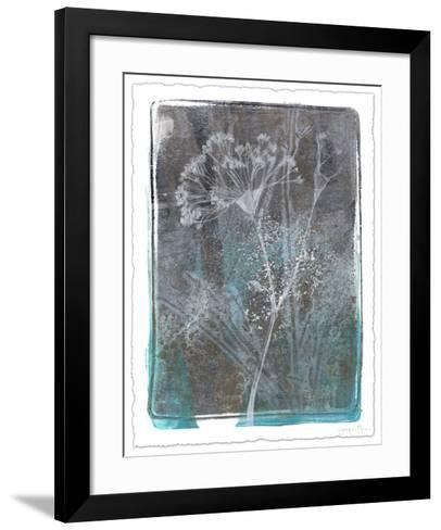 Ombre Wildflowers II-Jennifer Goldberger-Framed Art Print