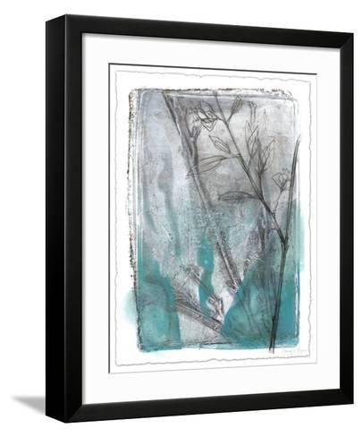 Ombre Wildflowers III-Jennifer Goldberger-Framed Art Print
