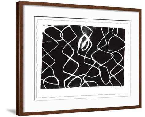 Frequency V-Jennifer Goldberger-Framed Art Print