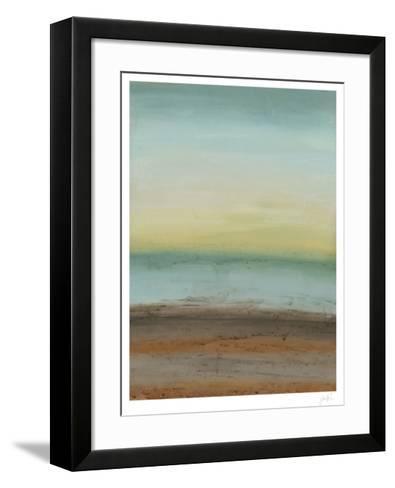 Seaside Serenity II-Erica J^ Vess-Framed Art Print