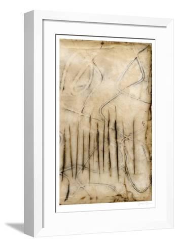 Sticks II-Jennifer Goldberger-Framed Art Print