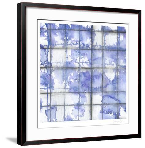 Blurred Lines II-Jennifer Goldberger-Framed Art Print