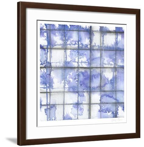 Blurred Lines II-Jennifer Goldberger-Framed Art Print