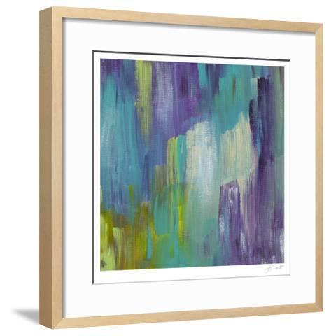 Brook's Path III-Lisa Choate-Framed Art Print