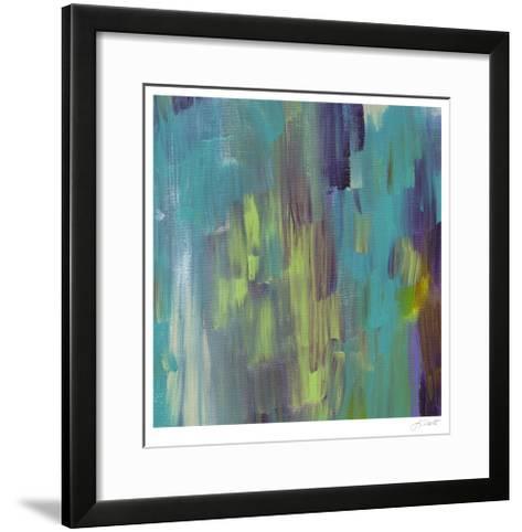 Brook's Path IV-Lisa Choate-Framed Art Print