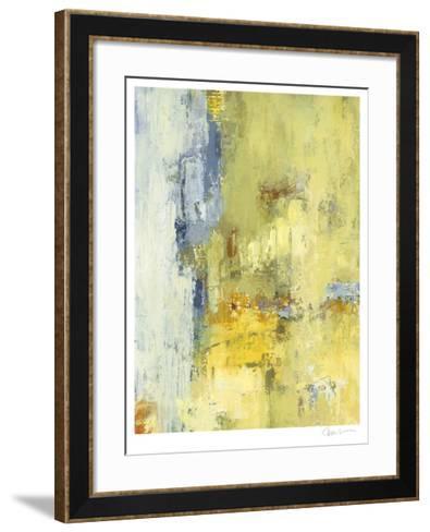 Among the Yellows I-Janet Bothne-Framed Art Print