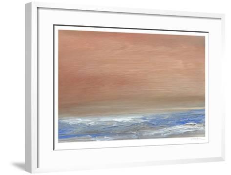 Serene III-Sharon Gordon-Framed Art Print
