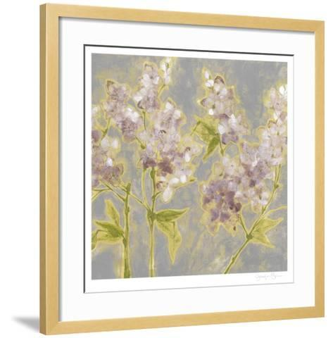 Ethereal Flowers II-Jennifer Goldberger-Framed Art Print