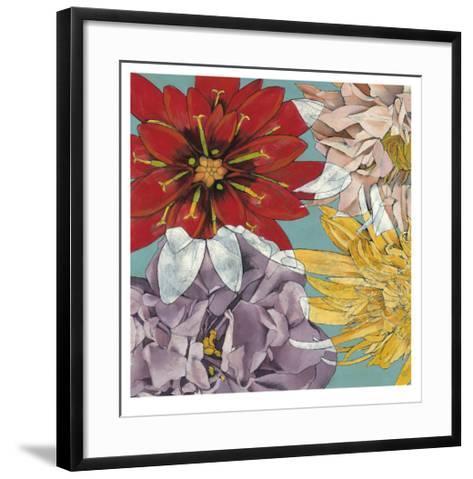 Flower Float II-Jennifer Goldberger-Framed Art Print