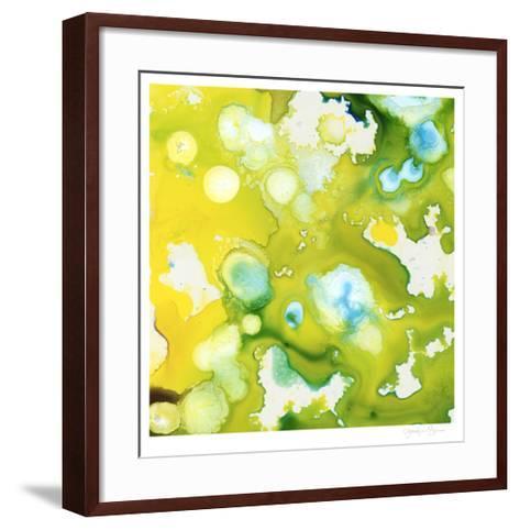 Satellite II-Jennifer Goldberger-Framed Art Print