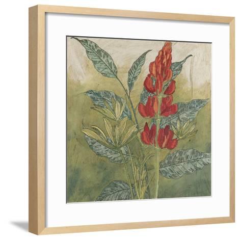 Crimson Tropical II-Megan Meagher-Framed Art Print