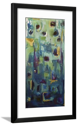 Abstract EXP II-Marabeth Quin-Framed Art Print