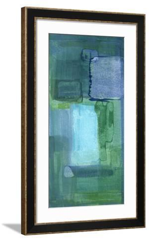 Blue Patch II-Charles McMullen-Framed Art Print