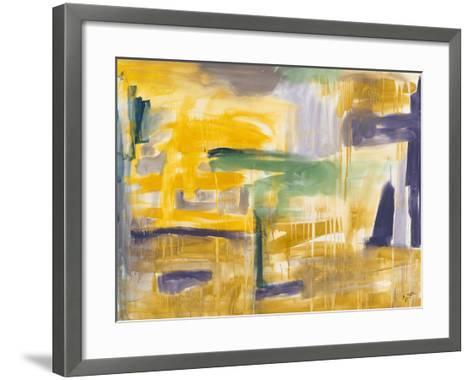 Compulsion I-Sisa Jasper-Framed Art Print