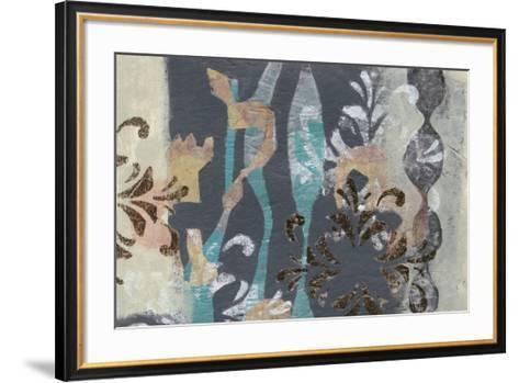Pinwheel Cutouts I-Jennifer Goldberger-Framed Art Print