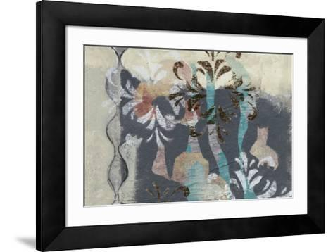 Pinwheel Cutouts II-Jennifer Goldberger-Framed Art Print
