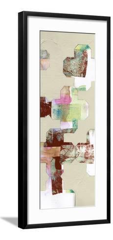 Quatrefoil Cut-Outs II-Jennifer Goldberger-Framed Art Print