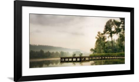 Two Green Chairs-Danny Head-Framed Art Print