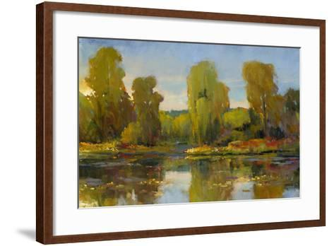 Monet's Water Lily Pond I-Tim O'toole-Framed Art Print