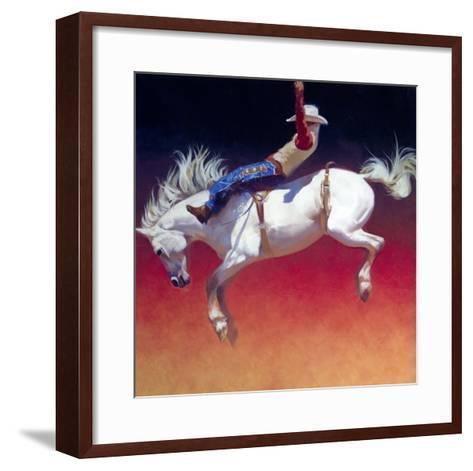 Fireworks-Julie Chapman-Framed Art Print