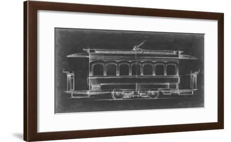 Vintage Street Car II-Ethan Harper-Framed Art Print