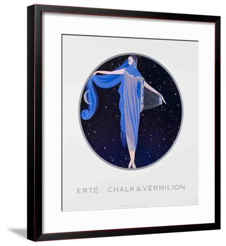 Moonlight-Erte-Framed Art Print