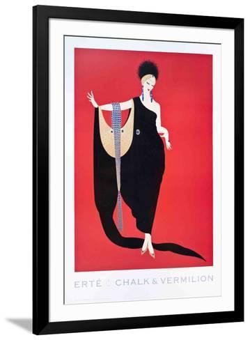 Glamour-Erte-Framed Art Print