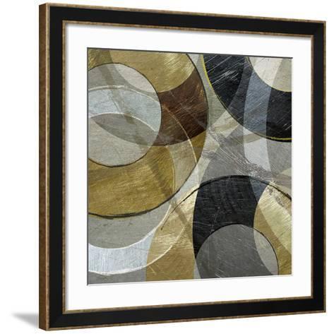 Metallic Atmosphere-Katrina Craven-Framed Art Print