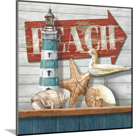 Beach-Conrad Knutsen-Mounted Art Print