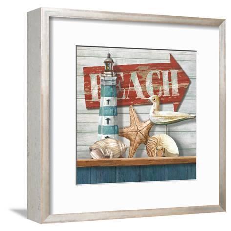 Beach-Conrad Knutsen-Framed Art Print
